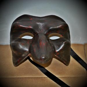 Maschera di Brighella nera | Kartaruga